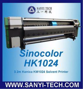 Sinocolor HK-1024 Large Format Digital Printer, 4/8 PCS Konica Heads pictures & photos