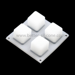 Silicone Rubber 2X2 LED Keypad pictures & photos