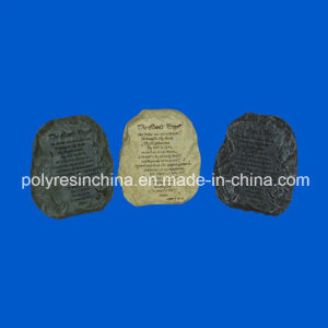 Polyresin Ten Commandments Stone, Resin Stone with Sayings pictures & photos