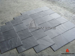 Black Roofing Slate for House Roofing Material pictures & photos