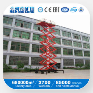 Mobile Hydraulic Scissor Lift Table Used Indoor or Outdoor pictures & photos