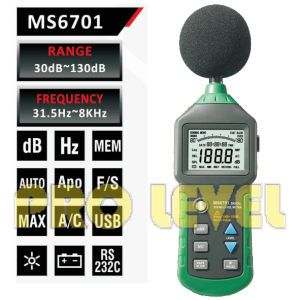 Professional Digital Sound Level Meter (MS6701) pictures & photos