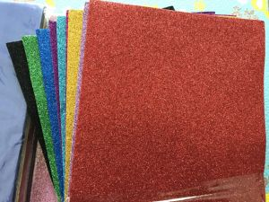 Glitter EVA Foam Sheet for School Craft in 2mm Thickness pictures & photos