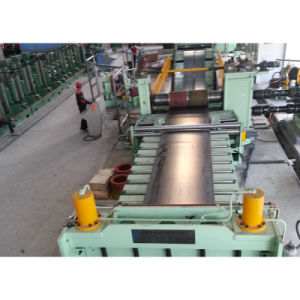 Cr Hr Gi Ss PP Silicon Tinplate Steel Plate Slitting Production Line pictures & photos