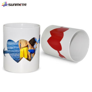 Color Change Sublimation Magic Mug Love Mugs Valentine Cups pictures & photos