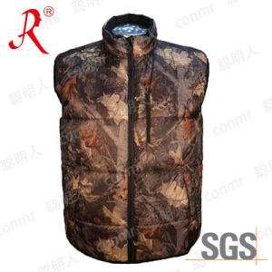 High Quality Wholesale Winter Warmer Polyester Vest (QF-815) pictures & photos