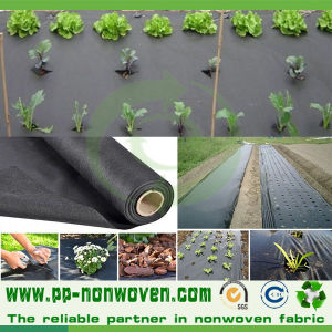 Black Agriculture Spunbond Weed Control Nonwoven pictures & photos