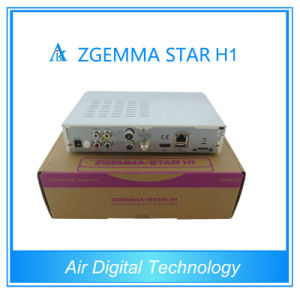 Enigma2 Zgemma-Star H1 HD Satellite TV Receiver with Internent Connect Zgemma-Star H1 HD DVB-S2 IPTV Set Top Box pictures & photos