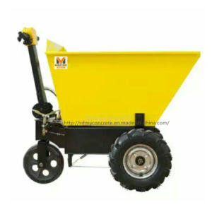 Electric Dumper in Construction Sites