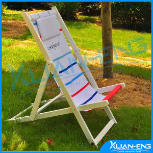 Pool Outdoor Camping Canvas Wooden Folding Beach Chair pictures & photos