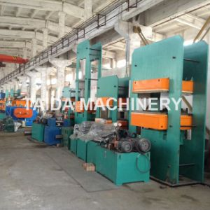 Rubber Sheet Pulley Lagging Strip Plate Curing Vulcanizing Press Machine Vulcanizer pictures & photos