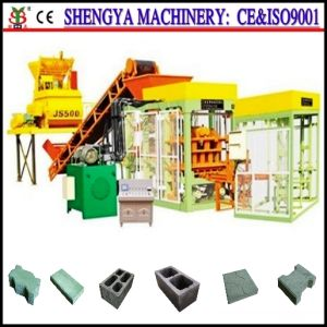 Fully-Automatic Block Machine, Brick Making Machine Qt4-15 pictures & photos