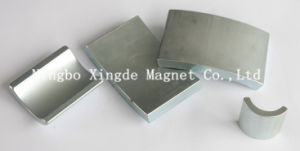 Arc Magnet with Zinc Coating Use in Motor Field