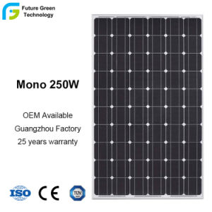 High Efficiency 250W Power Mono PV Solar Panel pictures & photos