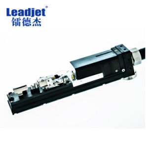 Factory Price Continuous Automatic Batch Number Inkjet Coding Machine pictures & photos