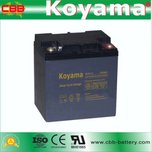 DC26-12 12V 26ah Rechargeable Sealed Lead Acid AGM Battery pictures & photos