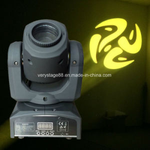 10W LED Mini Moving Head Spot Gobo Stage Light pictures & photos
