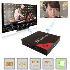 IPTV 4K RAM 2g ROM 16g Android 6.0 TV Box pictures & photos