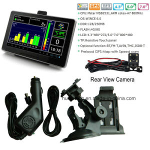 """New 5.0"""" Android Car Tablet PCS MID with Car DVR, 5.0mega Car Digital Video Camera, Parking Rearview Camera, Bluetooth, FM-Transmitter, AV-in, WiFi pictures & photos"""