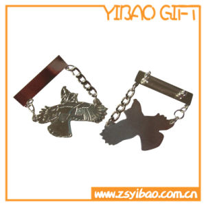 Custom Metal Pin with Siliver Plated (YB-Lp-06) pictures & photos