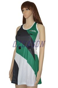 OEM Wholesale Professiona Digital Sublimated Netball Wear Netball Skirt (N007) pictures & photos