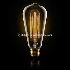 Romatic LED light for decoration bulb ST64 edsion filament bulb pictures & photos