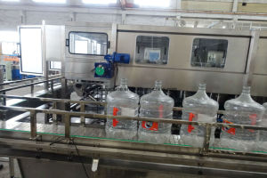 2000bph Rotary 20L 18.9L 19L Barrel Water Production Line pictures & photos