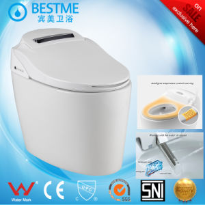 Bathroom Siphonic Toilet Electric Smart Tolilet, Automatic Toilet pictures & photos