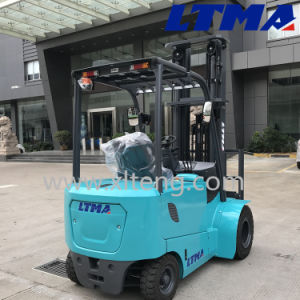 Curtis Controller 2.5t Electric Forklift with Double Tire pictures & photos