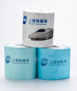 Recycle Pulp Cheap China Softly Toielt Paper Bathroom Toilet Tissue pictures & photos