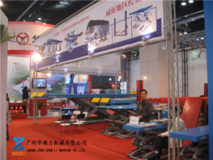 Wheel Alignment Double Level Scissor Lift with Runway with Ce pictures & photos