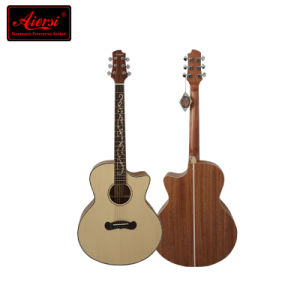 Latest High Quality Acoustic Guitar for Love Music People pictures & photos