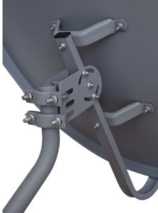 80cm High Gain Outdoor Offset DTH Satellite Dish Antenna with SGS Certificate pictures & photos