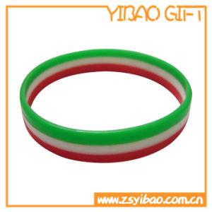 Promotion Custom Printed Silicone Slap Wristband (YB-SL-01) pictures & photos