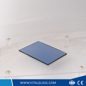 Dark Blue Reflective Glass for Building Glass/Tinted Float Glass pictures & photos
