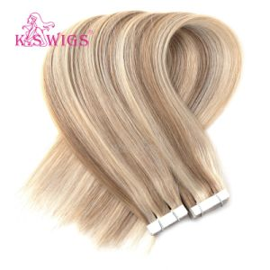 Best Quality Vrigin European Human Hair Tape Hair Extension Wholesale Prices pictures & photos