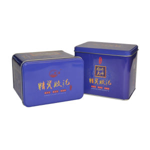 Rectangle Shaped Gift Box Packaging Tin Box pictures & photos