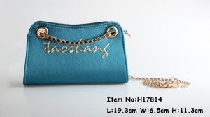 2017 New Fashion Cross Handbag in Blue Color pictures & photos