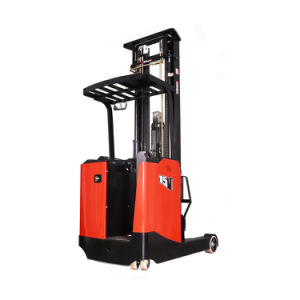 1.5 Ton New Condition Electric Reach Stacker (CQE15) pictures & photos