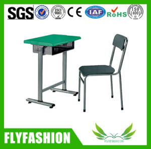 High Quality School Furniture Single Student Desk and Chair Sf-81s pictures & photos