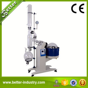Automatic Electric Lifting Glass Rotary Evaporator with Vacuum Gauge pictures & photos