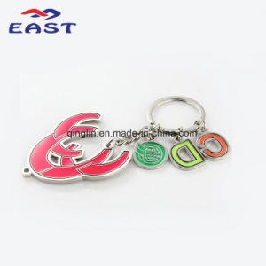 Fancy Design Coloring Pendant Metal Key Chain pictures & photos