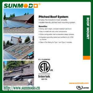 Solar Mounting System for Home pictures & photos