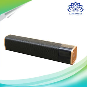 Black and Gold NFC Bluetooth Loudspeaker USB Outdoor Speaker pictures & photos