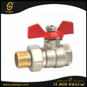 Brass Butterfly Ball Valve pictures & photos