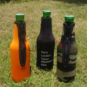 Promotional Drink Bottle Koozie, Neoprene Beer Beverage Insulated Cooler Bag (BC0085) pictures & photos
