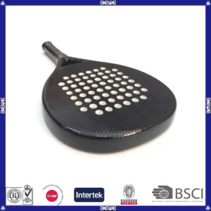 Carbon and Fiberglass Material Paddle Racket pictures & photos