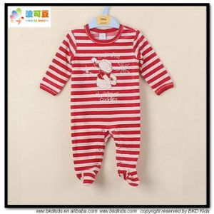 Popular Design Baby Garment Stripe Printing Babies Romper pictures & photos