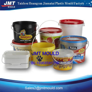 Plastic Injection Round Bucket Mould pictures & photos