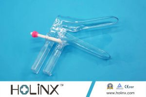 Disposable Medical Vaginal Speculum with Fastener Type for pictures & photos